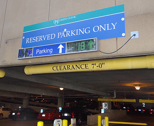 SPOTLIGHT: INDECT Parking Guidance Systems in Hospitals